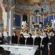 concerto di natale, 2007 - chiesa di cazzano, besana b.za